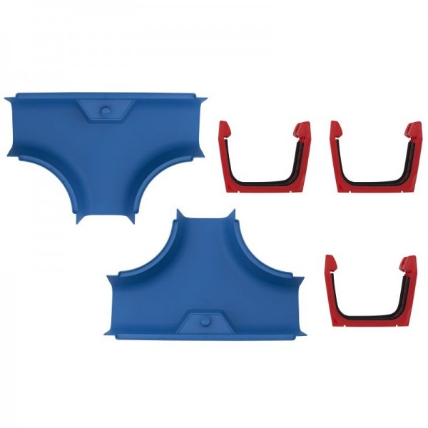AQUAPLAY 2 T-Stücke und 3 Kupplungen