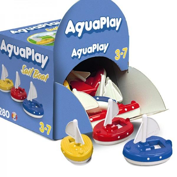 Aquaplay Boote und mehr - 1 Aquaplay Segelboot